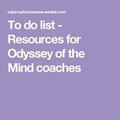 Odyssey of the mind problem solving activities
